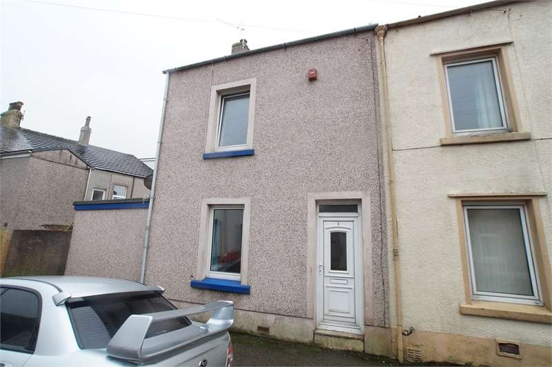 2 Bedrooms End Of Terrace House for sale in CA24 3JH Penzance Street, Moor Row, Cumbria