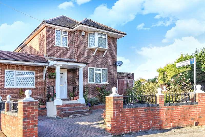 4 Bedrooms Detached House for sale in Campden Road, Ickenham, Uxbridge, Middlesex, UB10