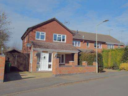 3 Bedrooms Detached House for sale in Parsons Drive, Glen Parva, Leicester, Leicestershire