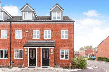 3 Bedrooms End Of Terrace House for sale in Kerridge Drive, Warrington, Cheshire