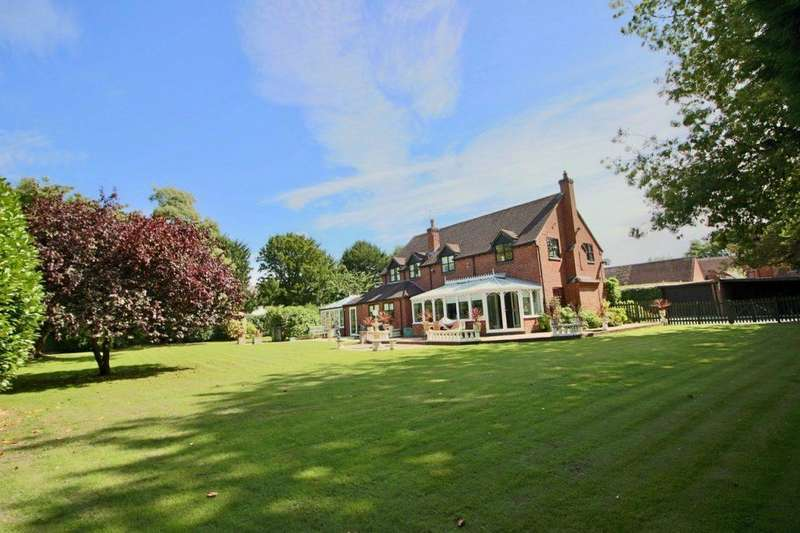 5 Bedrooms Detached House for sale in Sutherland House, 42a Muxton Lane, Muxton