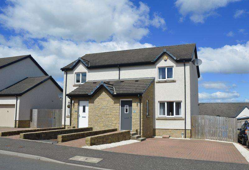 2 Bedrooms Semi-detached Villa House for sale in Bard Drive, Tarbolton