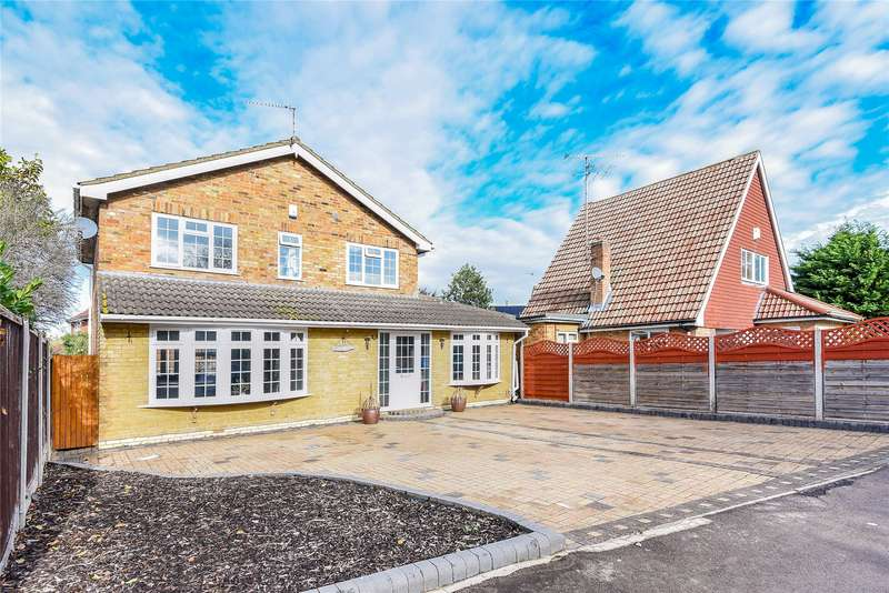 4 Bedrooms Detached House for sale in Pheasant Close, Winnersh, Wokingham, Berkshire, RG41
