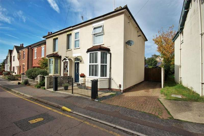 3 Bedrooms Semi Detached House for sale in Meyrick Crescent, Colchester, CO2
