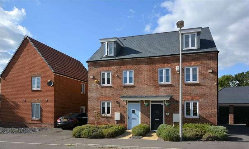 3 Bedrooms Semi Detached House for sale in Samborne Drive, Wokingham, Berkshire, RG40