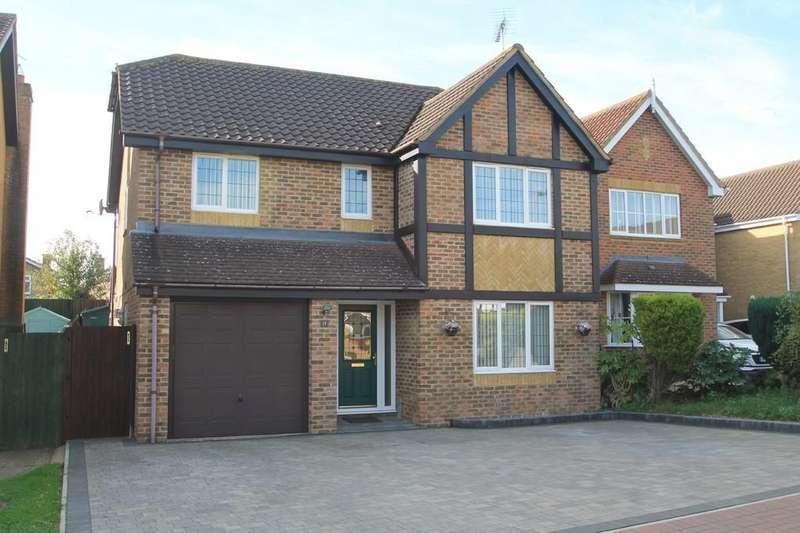 4 Bedrooms Detached House for sale in Shepherd Close, Aylesbury