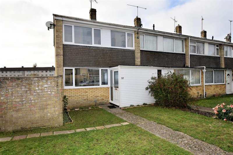 2 Bedrooms End Of Terrace House for sale in Combe Road, Tilehurst, Reading