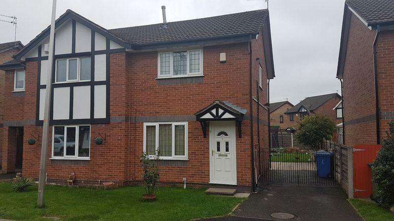 2 Bedrooms Semi Detached House for sale in Tudor Close, Reddish
