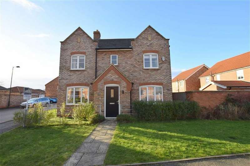 4 Bedrooms Detached House for sale in Bluebell Road, Scartho, North East Lincolnshire
