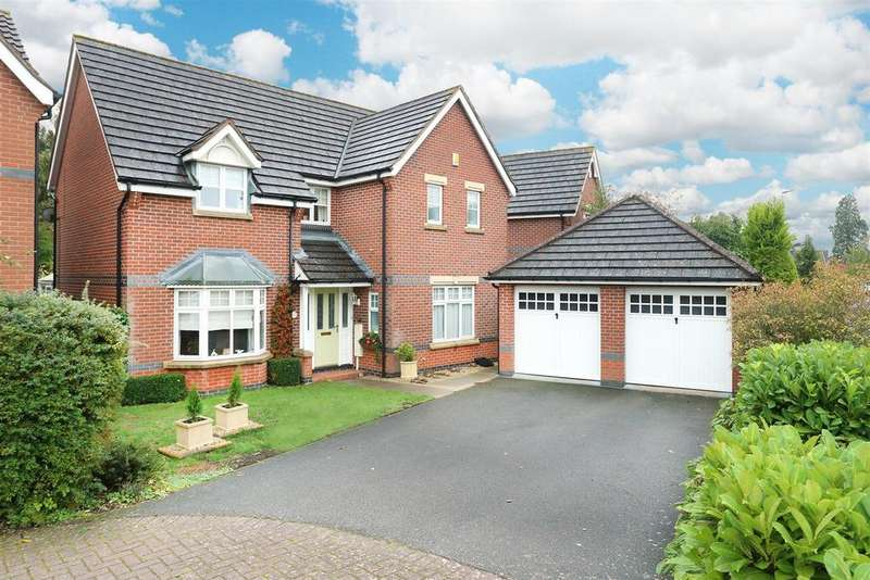 4 Bedrooms Detached House for sale in Alvington Way, Market Harborough