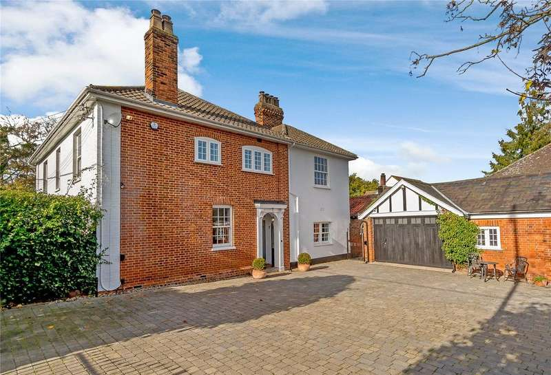 5 Bedrooms Detached House for sale in The Street, Rayne, Essex, CM77