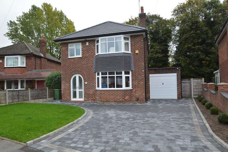 3 Bedrooms Detached House for sale in Partridge Avenue, Manchester, M23