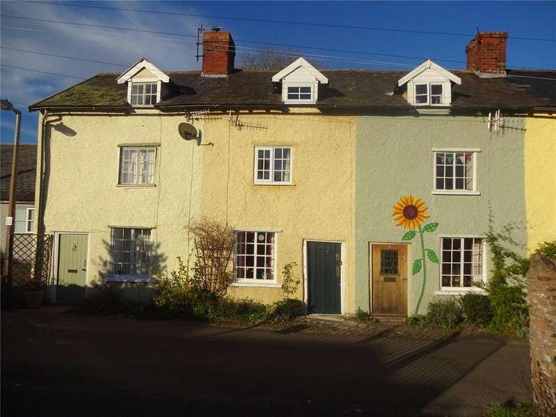 2 Bedrooms Terraced House for sale in New Street, Bishops Castle, Shropshire