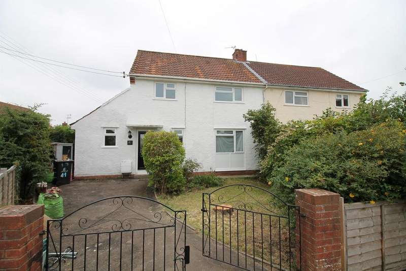 3 Bedrooms Semi Detached House for sale in Hardwick Road, Pill, North Somerset