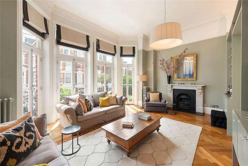 4 Bedrooms Maisonette Flat for sale in Bramham Gardens, London, SW5