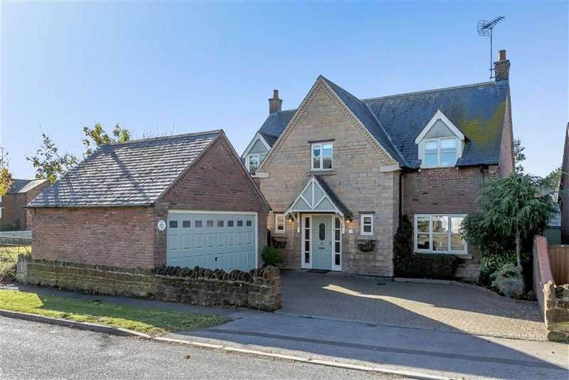 5 Bedrooms Detached House for sale in Main Street, Drayton, Market Harborough