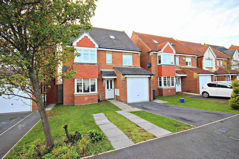 5 Bedrooms Detached House for sale in Ovington Close, Consett