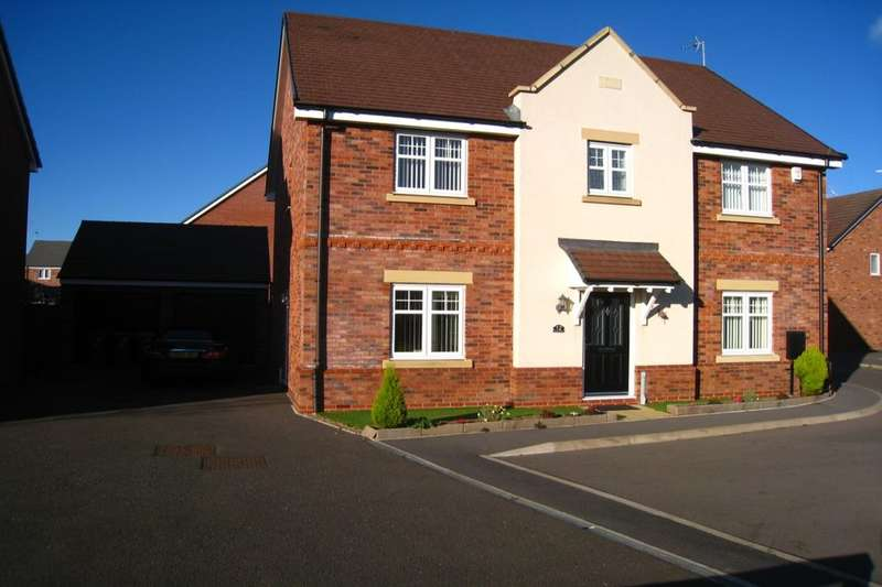 4 Bedrooms Detached House for sale in Bellerose Close, Bannerbrook Park, Coventry, CV4