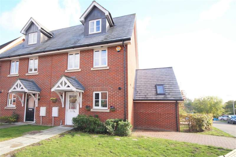 3 Bedrooms Semi Detached House for sale in Ducketts Mead, Shinfield, READING, Berkshire