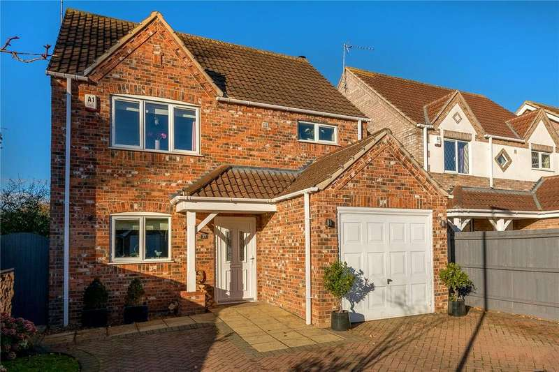 3 Bedrooms Detached House for sale in Oatfield Way, Heckington, Sleaford, Lincolnshire, NG34
