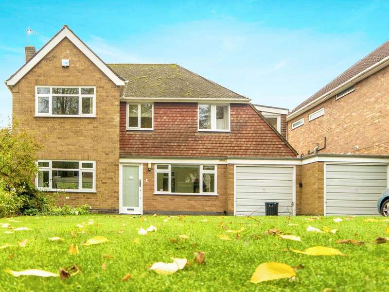 4 Bedrooms Detached House for sale in The Fairway, OADBY, Leicestershire, LE2