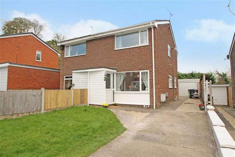 2 Bedrooms Semi Detached House for sale in Sycamore Drive, Chirk