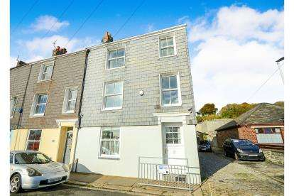 3 Bedrooms End Of Terrace House for sale in Mount Wise, Plymouth, Devon