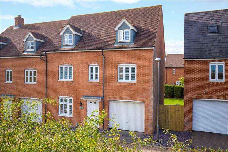 5 Bedrooms Semi Detached House for sale in Brimstone Lane, Aylesbury, Buckinghamshire