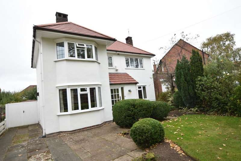 3 Bedrooms Detached House for sale in Curzon Park South, Chester