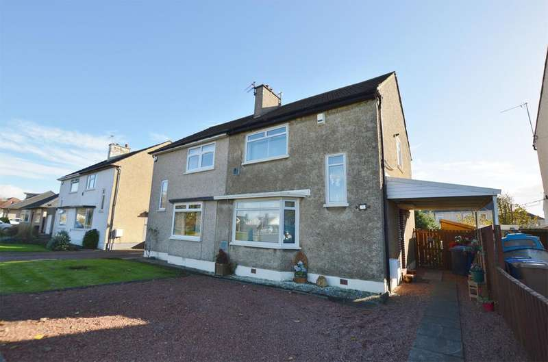 2 Bedrooms Semi Detached House for sale in 11 Kilwinning Road, STEVENSTON, KA20 3AR