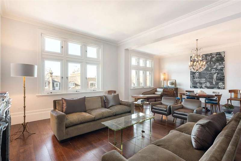 4 Bedrooms Flat for sale in Palace Court, Notting Hill