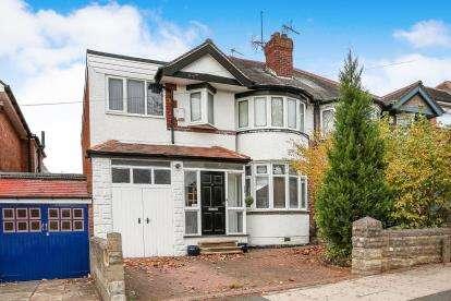 4 Bedrooms Semi Detached House for sale in Olorenshaw Road, Sheldon, Birmingham, West Midlands