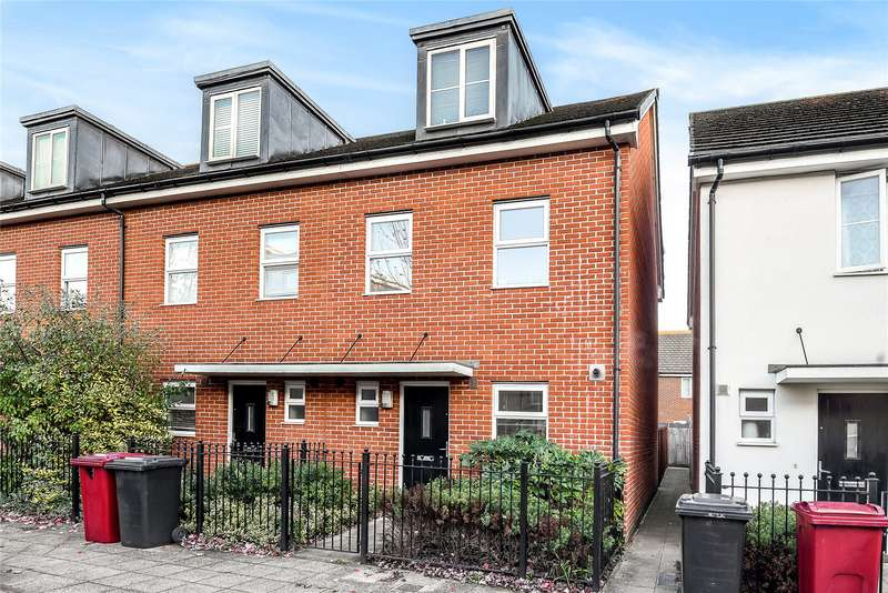 3 Bedrooms End Of Terrace House for sale in Havergate Way, Reading, Berkshire, RG2