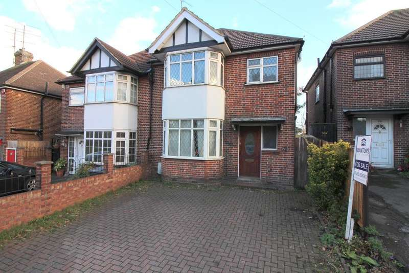 3 Bedrooms Semi Detached House for sale in Hitchin Road, Luton, Bedfordshire, LU2 7ST