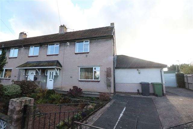 4 Bedrooms Semi Detached House for sale in Warnell Drive, Carlisle, Cumbria, CA1 3LR