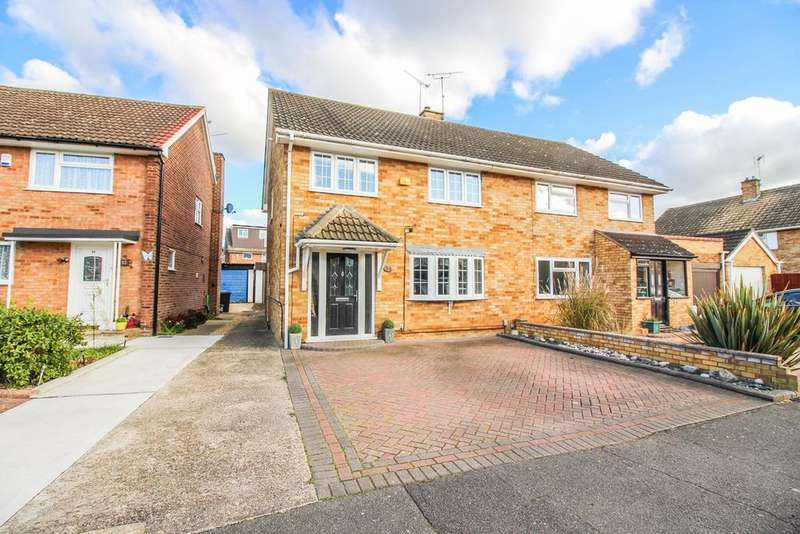 3 Bedrooms Semi Detached House for sale in Sakins Croft, Harlow, CM18