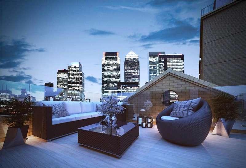 3 Bedrooms Terraced House for sale in Dockside Terraces, London, SE16