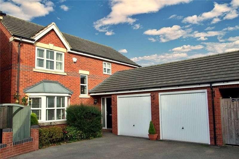4 Bedrooms Detached House for sale in Watchorn Lawns, Alfreton, Derbys, DE55