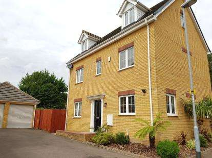 5 Bedrooms Detached House for sale in Boundary Close, Henlow, Bedfordshire, England