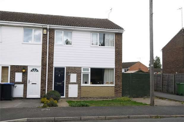 3 Bedrooms End Of Terrace House for sale in Hopton Fields, Market Harborough, Leicestershire
