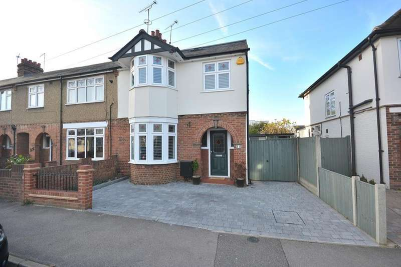 4 Bedrooms End Of Terrace House for sale in Lynmouth Avenue, Chelmsford, Essex, CM2