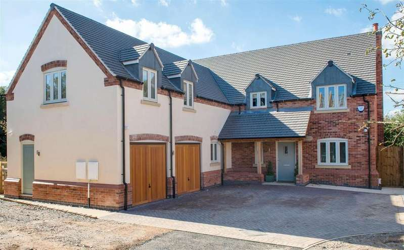 5 Bedrooms Detached House for sale in Plot 4, Brick Kiln Lane, Shepshed