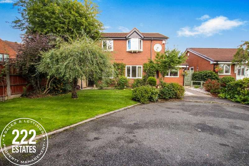 4 Bedrooms Detached House for sale in Oban Grove, Fearnhead, Warrington, WA2