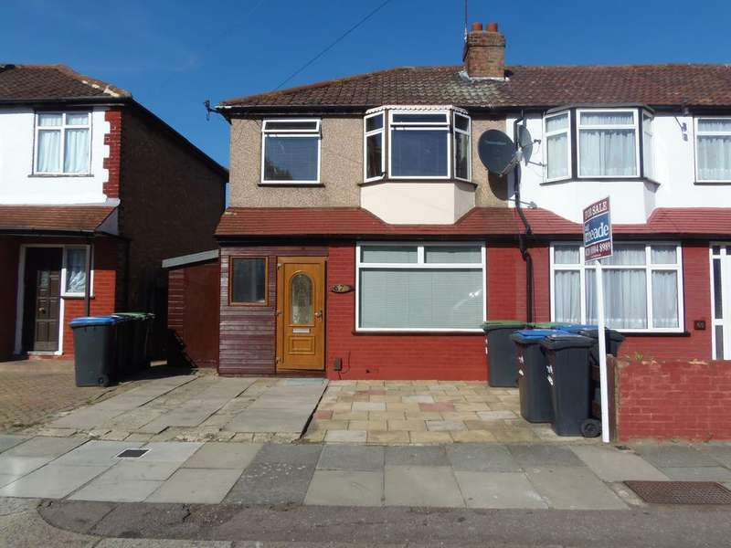 3 Bedrooms End Of Terrace House for sale in Woodlands Road, N9