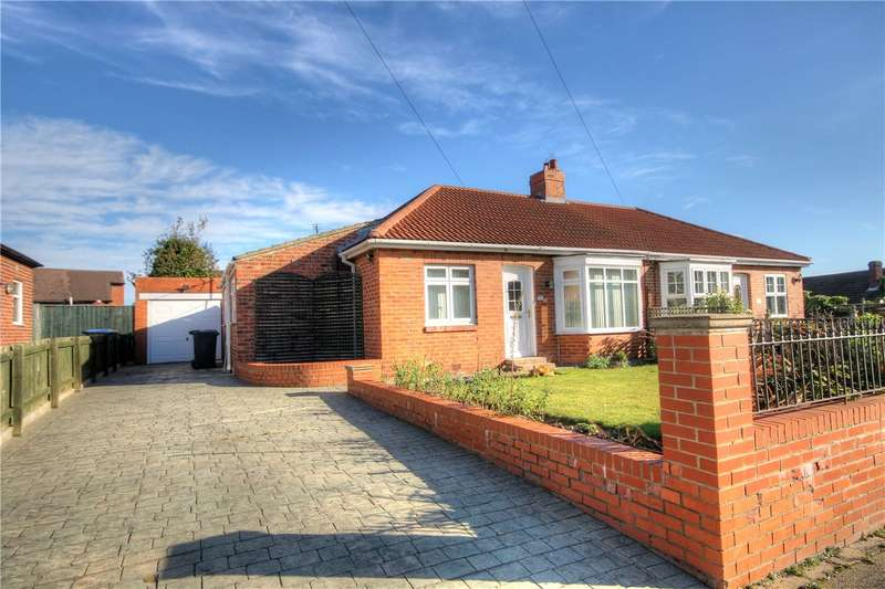 2 Bedrooms Semi Detached Bungalow for sale in Camperdown Avenue, Chester Le Street, County Durham, DH3