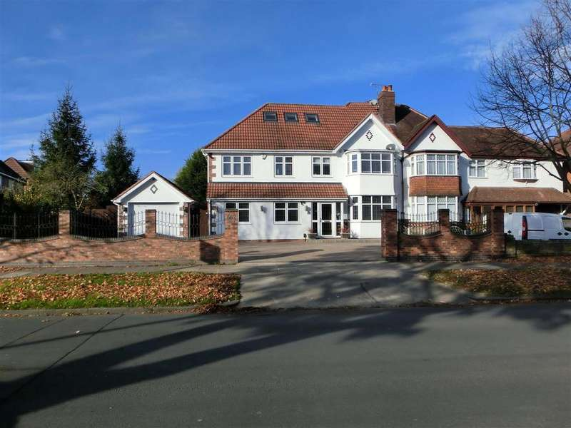 5 Bedrooms Semi Detached House for sale in Shirley Road, Hall Green, Birmingham