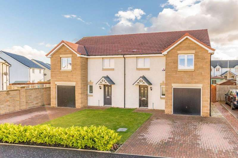 3 Bedrooms Semi Detached House for sale in 3 Corby Craig Avenue, Bilston, EH25 9TL