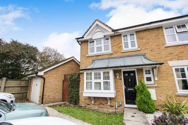 3 Bedrooms End Of Terrace House for sale in Barons Mead, Maybush, Southampton, SO16