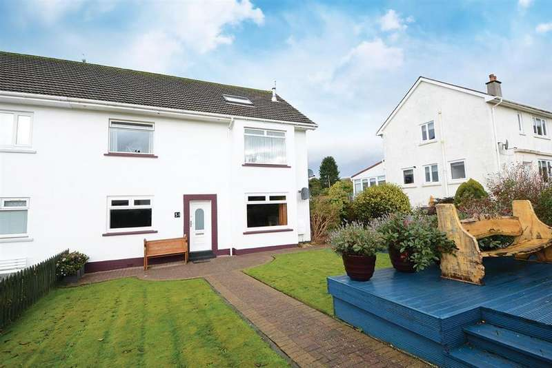 2 Bedrooms Ground Flat for sale in 51 Glenacre Drive, Largs, KA30 9HE