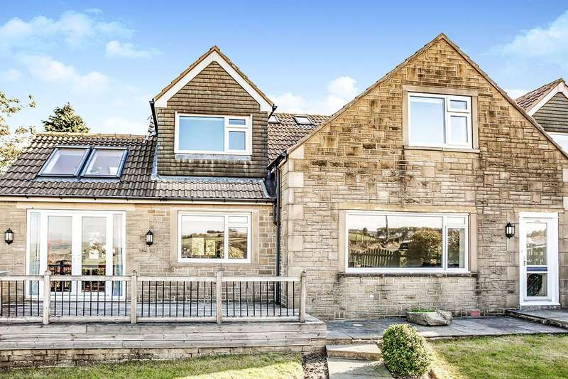 4 Bedrooms Semi Detached House for sale in Gillroyd Lane, Linthwaite, Huddersfield, HD7